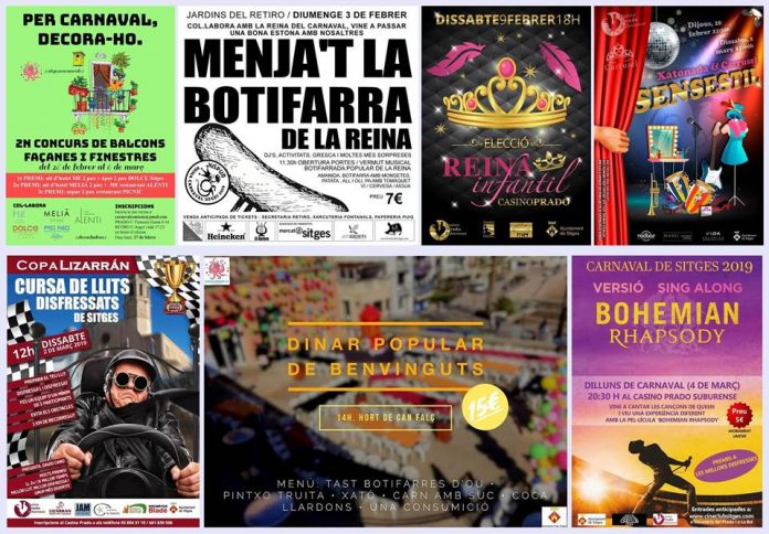 actos carnaval sitges 2019
