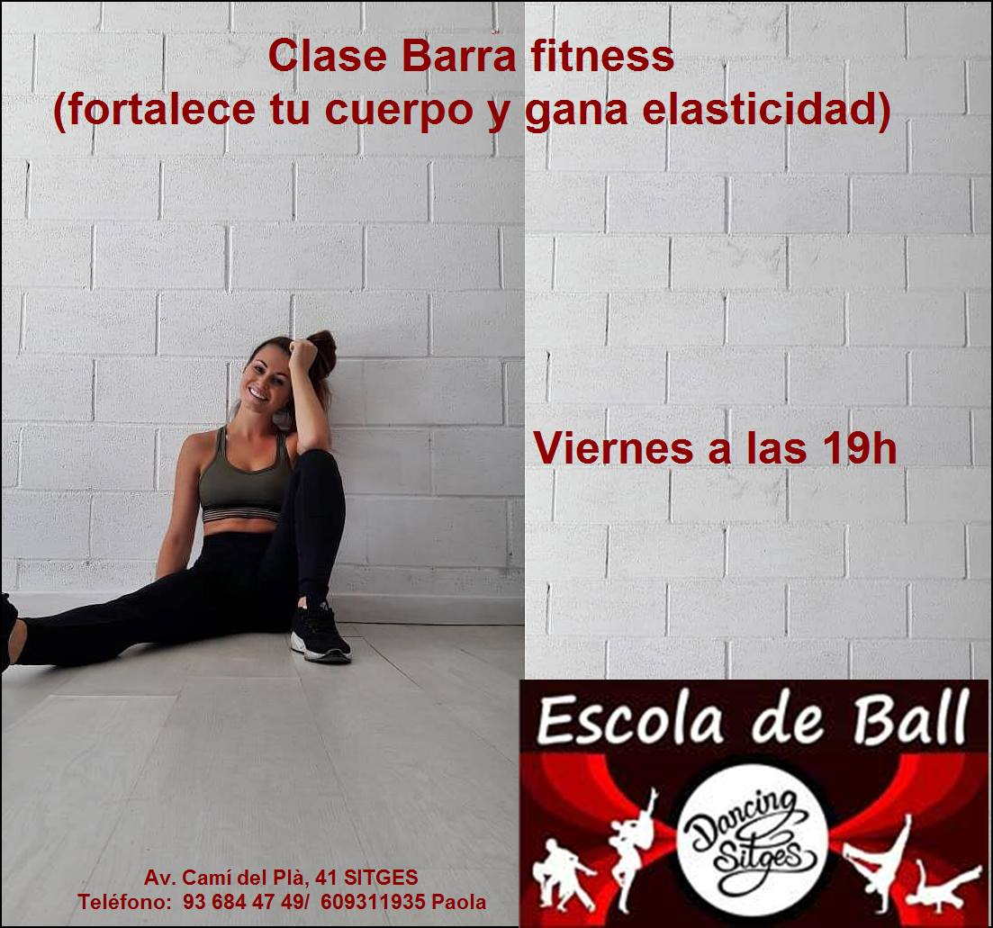 barra fitness dancing
