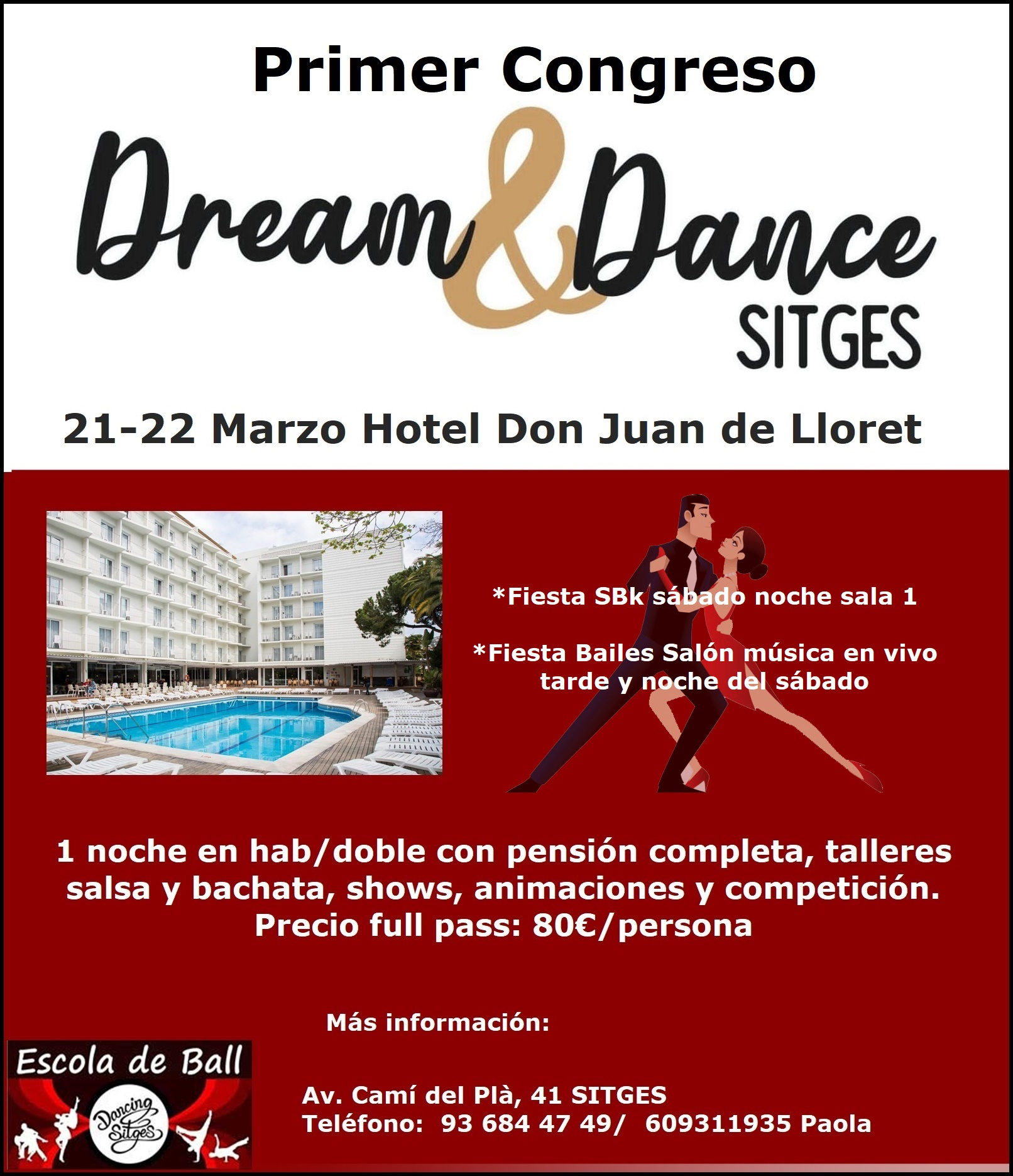 Primer congreso Dream & Dance: