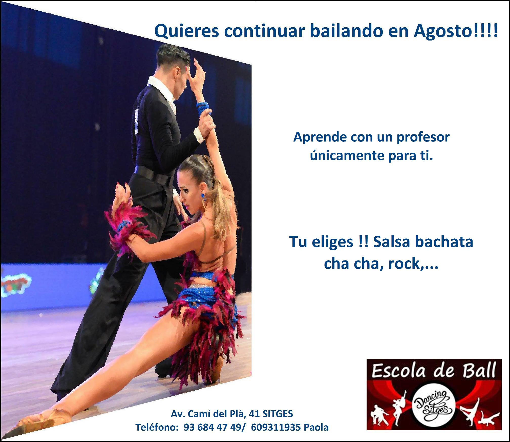clases particulares dancing sitges
