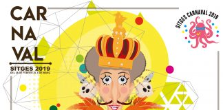Cartell Carnaval Sitges 2019