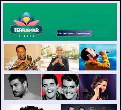 Festival Jardins Terramar Sitges 2019