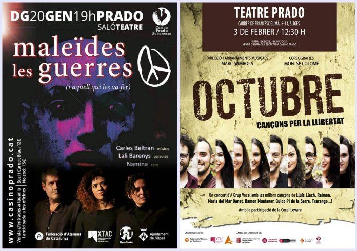 Noves propostes d'espectàcle al Casino Prado Suburense