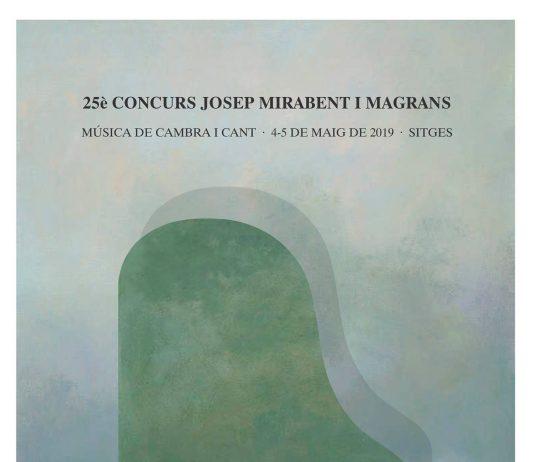 CONCURS JOSEP MIRABENT I MAGRANS SITGES 2019