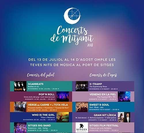 Concerts de Mitjanit 2018