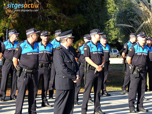 patron policia local sitges 2014