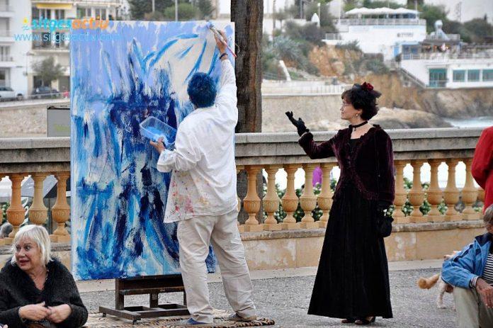Dia del artista sitges 2016