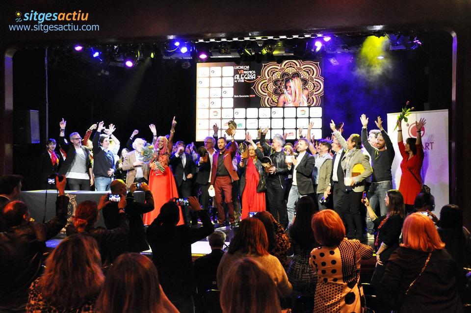 VII Premios alegria de vivir lucrecia
