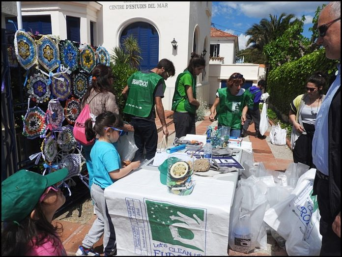 CLEAN UP DAY SITGES 2018