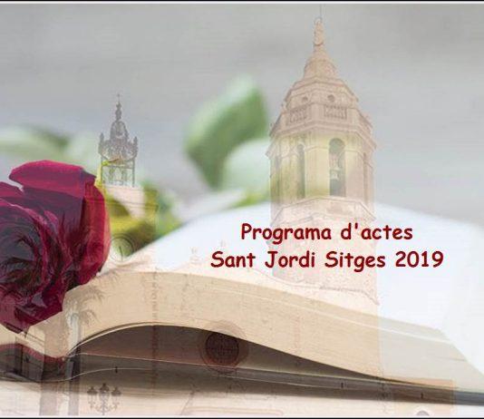 Sant jordi Sitges 2019