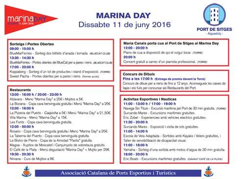 programa marina day port de sitges