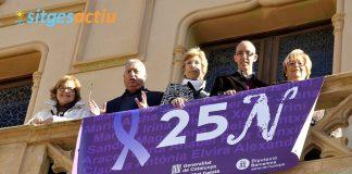 Dia internacional contra la violència envers les dones Sitges 2013