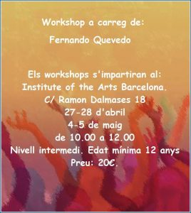 Workshop a carreg de Fernando Quevedo