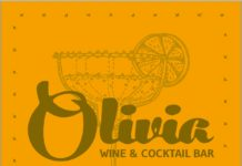 logo Olivia wine cocktail bar