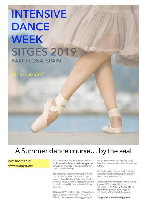 Danza Intensiva de Sitges 2019