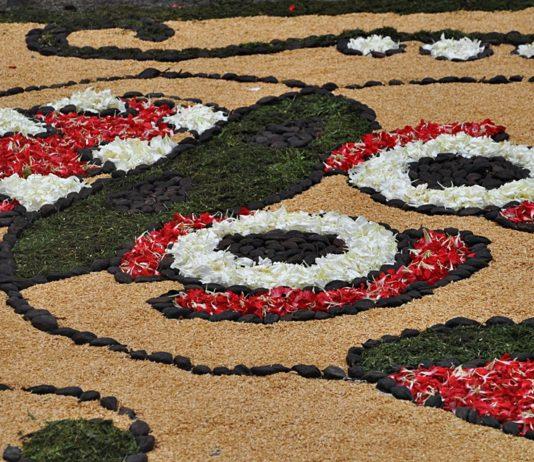 alfombras de flores Sitges