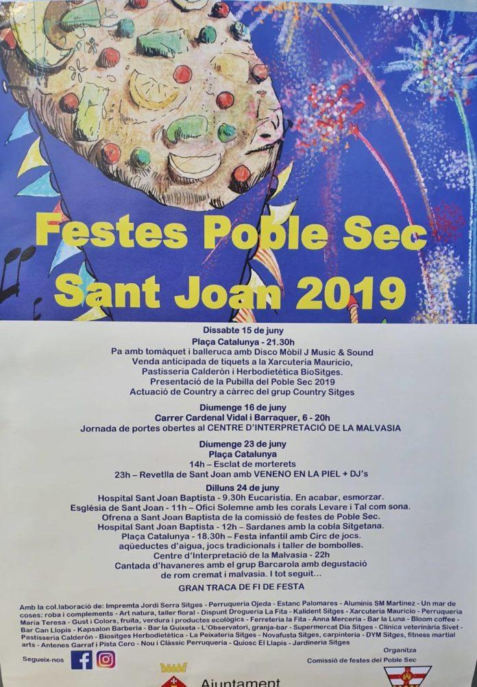 Fiestas Poble Sec Sitges 2019