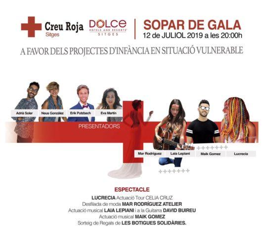 Cena de Gala de Creu Roja Sitges 2019