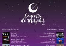 Concerts de Mitjanit 2019