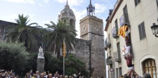Acto institucional Diada Nacional de Cataluña Sitges 2019