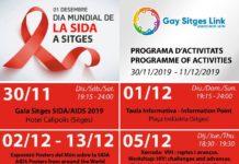 Día Mundial del Sida Sitges 2019