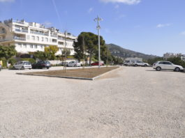 aparcamiento pins vens sitges