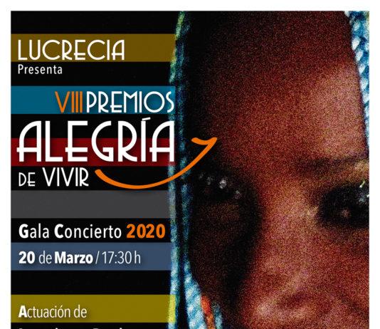 Gala VIII Premios Alegría de Vivir 2020.